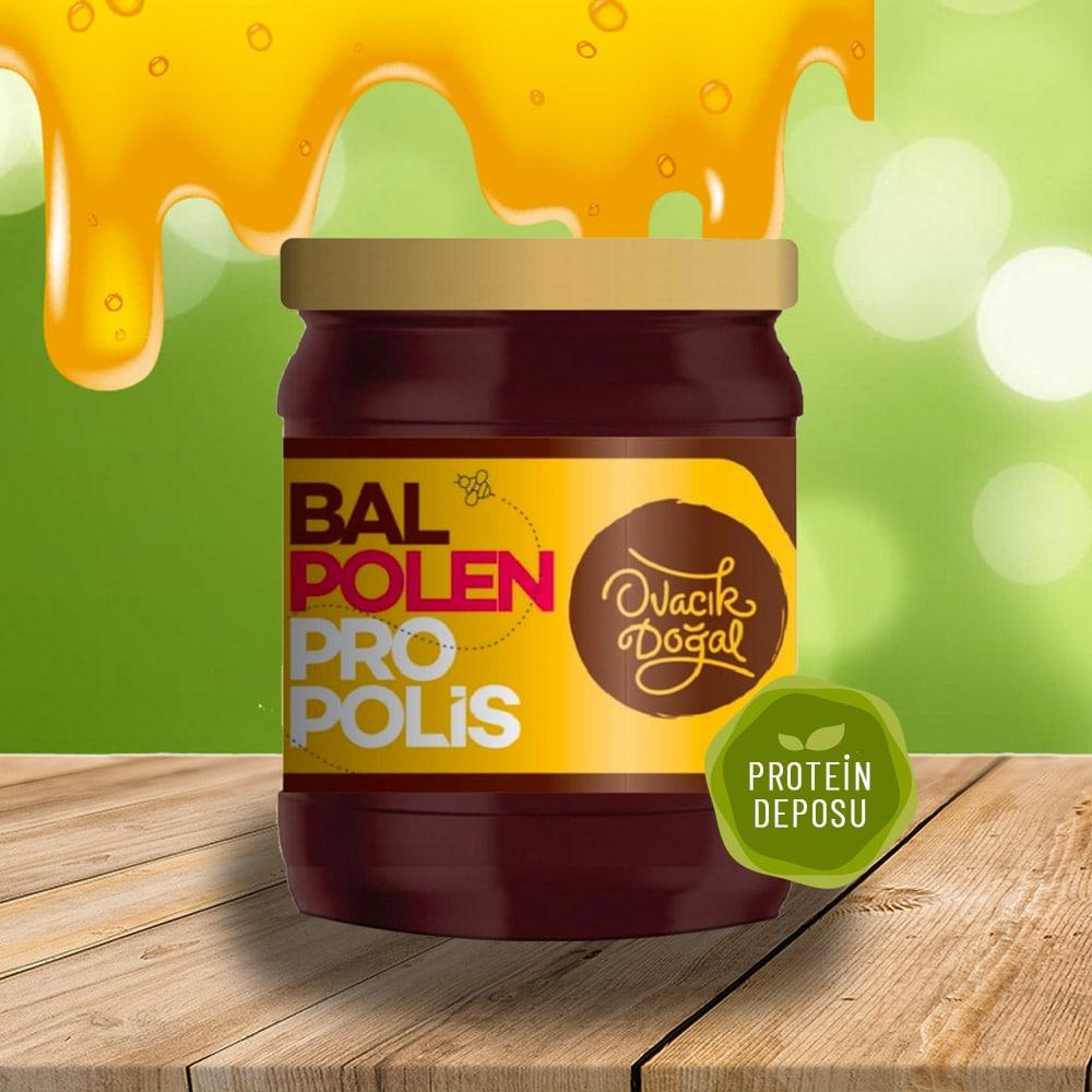 Bal-Polen-Propolis Karışımı 220 GR